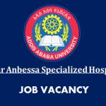 Professor Ethiopia Job Vacancy 2021