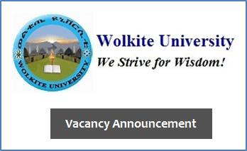Assistant Professor Ethiopia Job Vacancy 2020