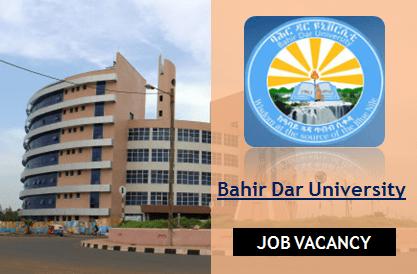 www.bdu.edu.et job vacancy