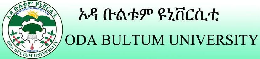 Oda Bultum University Ethiopia Job Vacancy
